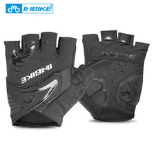 INBIKE Men Women Bike Gloves Bicycle Cycling Gloves Half Finger Gel Padded MTB Motorcycle Gloves Guantes Ciclismo Accessories