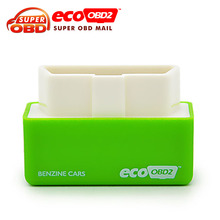 Promotion! 2016 Newest EcoOBD2 Economy Chip Tuning Box for Benzine 15% Fuel Save Plug&Drive OBD 2 scanner free shipping