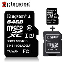 Kingston Micro SD Card 16GB 32gb 64GB 8GB Class 10 Memory Flash Card Microsd Tarjeta Flash TF SDHC SDXC Card for Camera Tablet(China)