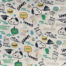 50*170cm Stretch printed cartoon dog knitting jersey cotton fabric printing cute baby clothing making cotton fabric