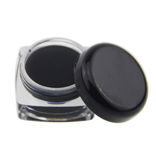 1 Pcs Cosmetic Waterproof Eye Liner Pencil Makeup Black Liquid Eyeliner Shadow Gel Make Up With Brush