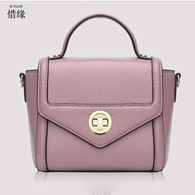 XIYUAN BRAND woman 2017 luxury fashion new Handbag female cross body messenger shoulder bags lady handbags for girls purple pink(China)