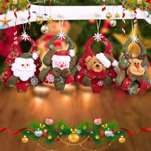 Navidad Santa Claus Pendant Christmas Ornaments Festival Party Home Decor Christmas Decor Supplies Novelty Gifts For Children(China)