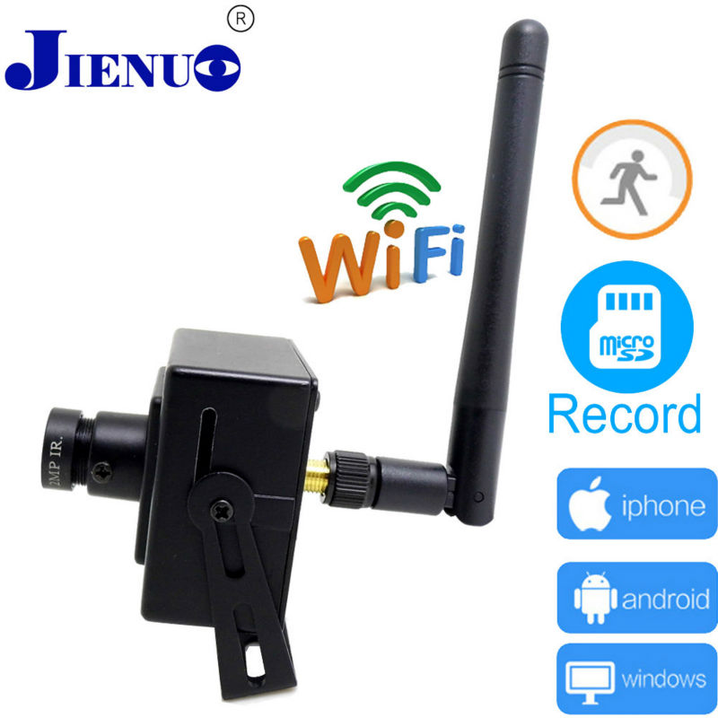 ip camera 720p HD wireless Home security monitoring cctv p2p mini camera smart ip cameras wifi cctv camera cam system  JIENU<br>