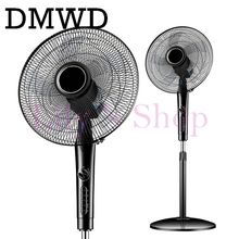 Electric Fan Stand Fan Home use Mechanical Desktop remote air blower timer mute household dormitory timing shekehead EU US plug(China)
