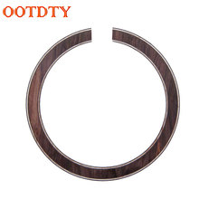 Classic Acoustic Guitar Bass Wood Soundhole Rosette Inlay Guitar Body Project Parts(China)