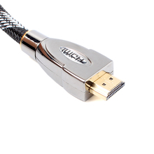 Hot Sale HDMI 2.0V 2m Cable High Speed Silver Plated With Ethernet For HDTV DVD #74428(China)