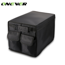 Car trunk Organizer Box Folding Storage Bag Oxford Car Organiser For Auto Accessories Stowing Tidying Collapsible bags(China)