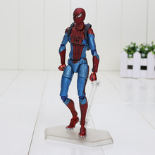 6'' 15cm Spider Man The Amazing Spiderman Figure Figma 199 Ultimate Action Figure Toys(China)