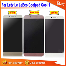 For 5.5''  Letv Le LeEco Coolpad Cool 1 Touch screen lcd display screen assembly for Cool1 Dual C106+tools