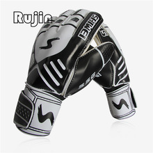 Professional Size 9 football gloves goalkeeper soccer gloves with protector guantes de portero luva de goleiro High quality