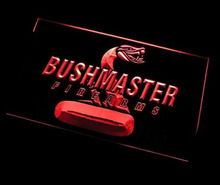 ys-38 Bushmaster Firearms Hunting Logo BEER BAR PUB 3D SIGNS LED Neon Light Sign home decor crafts(China)