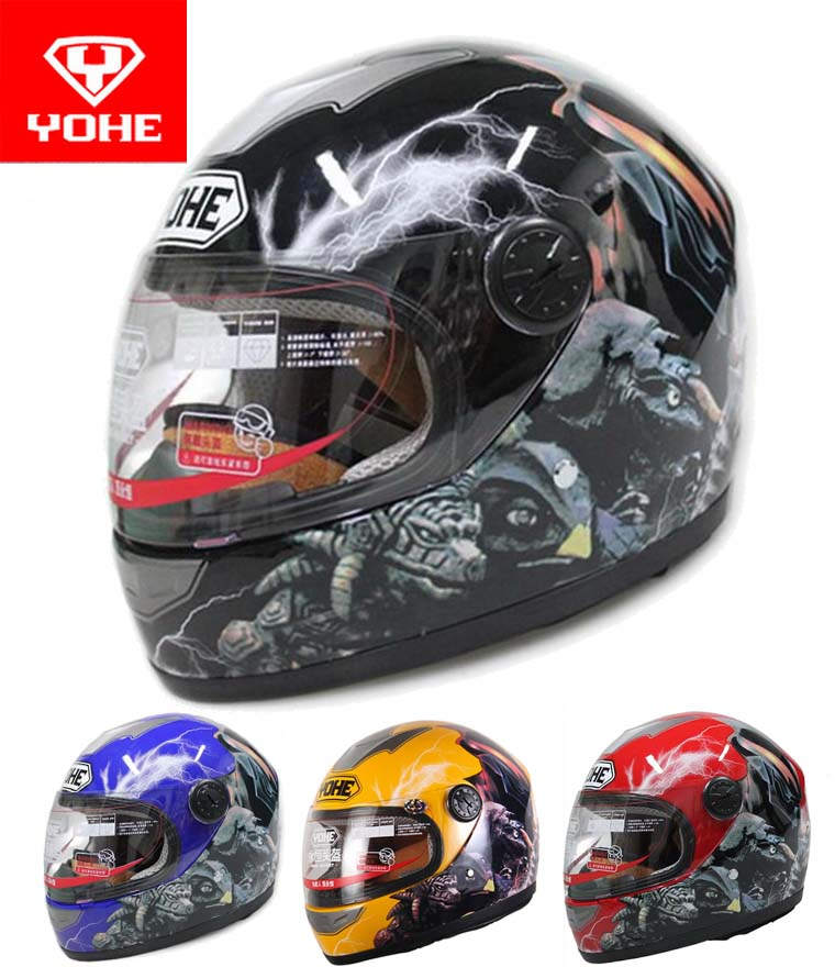 YOHE child Motorcycle helmets electric bicycle motorbike helmet ABS Children cartoon helmets boy girl universal YH-959S Altman<br><br>Aliexpress
