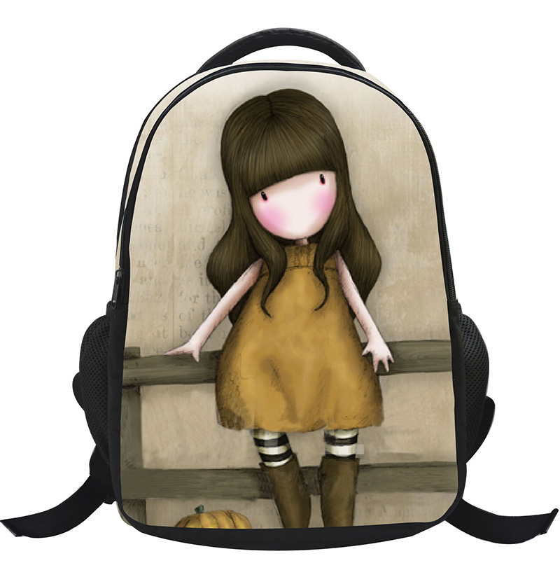 2017 Waterproof 3D Cartoon Children School Bags For Girls Boys Children Backpacks Kindergarten Book Bag Kids Bag Mochila Escolar(China (Mainland))