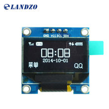 "Buy 0.96 inch IIC Serial White OLED Display Module 128X64 I2C SSD1306 12864 LCD Screen Board GND VCC SCL SDA 0.96"" Arduino for $2.83 in AliExpress store"