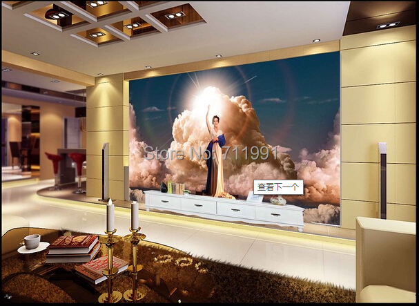 2015 Hot Sale New Papier Peint Customize The Light Of Hope For Bedroom Wallpaper Living Room Sofa Backdrop Of Indoor Decorative <br><br>Aliexpress