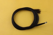 2hanks Black Horse Hair Horse Tail Hair Violin Bow hair Mongolian Horse