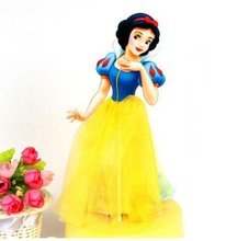 Wedding Decoration Snow White Princess Theme Party Supplies Cupcake Toppers Pick Kid Birthday Party Decorations SUPPLIES(China)