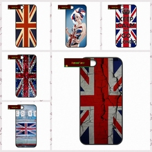 England British UK Union Jack Flag Phone Cases Cover For iPhone 4 4S 5 5S 5C SE 6 6S 7 Plus 4.7 5.5  UJ59