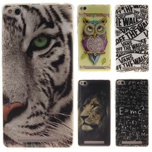 Phone Case for Xiaomi Redmi 3 Cartoon High Quality Glossy Soft TPU Case Silicon Protector Back Cover Owl Tiger for Redmi3