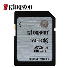 Kingston Digital SD Memory Card 8GB 16GB 32GB 64GB 128GB SD Card SDHC SDXC HC XC UHS-I HD Video Class 10 Cartao de Memoria SD