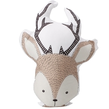 Infant Baby & Toddler Super Cute Sika Deer Stuffed Animal Plush Toys Doll Pillow W15(China)