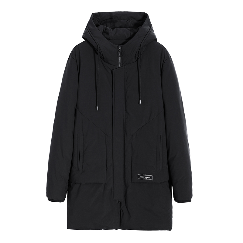 2019 New Long Parka Men Brand-clothing Thick Warm Winter Jacket Male Top Quality Cotton Quilted Coat Men