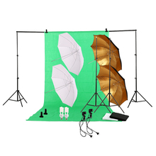 Professional Photography Photo Studio Lighting Kit 45W 5500K Daylight Studio Bulbs Photo Video Equipment Softbox Set(China)