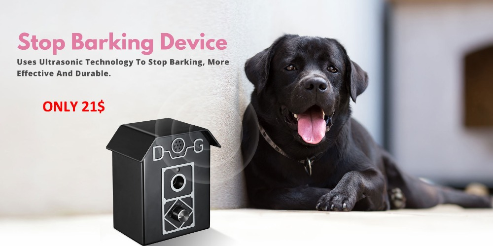Stop-barking-device