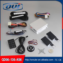 Car Alarm Function One Way Type Car Alarm System Engine Start PKE Keyless Push Button Start and Remote Start