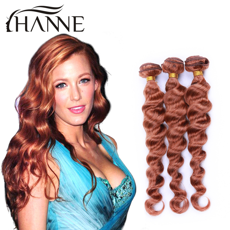 Brazilian remy hair loose wave 4 bundles colored #30 ombre human hair extensions remy human hair weave HANNE colorful hair<br><br>Aliexpress