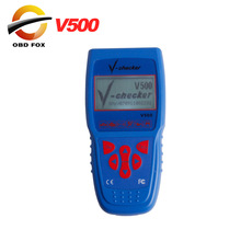 2017 Top V-Checker V500 Super Car Diagnostic Equipment V checker code reader 20 languages decoding function In stock(China)