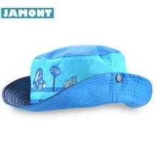 JAMONT  Cute Spring Summer Kids Cap Boy Girl Sun Hat Quick Drying Cartoon  Panama e4d26e5c21e7