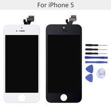 "High Quality 4""LCD Screen Replacement with Tool kits for iPhone 5 Screen LCD Display Touch Screen Digitizer Assembly"