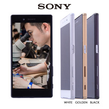 100% Original For SONY Xperia Z5 LCD Touch Screen with Frame For SONY Xperia Z5 Display Digitizer Assembly E6653 E6603 E6633