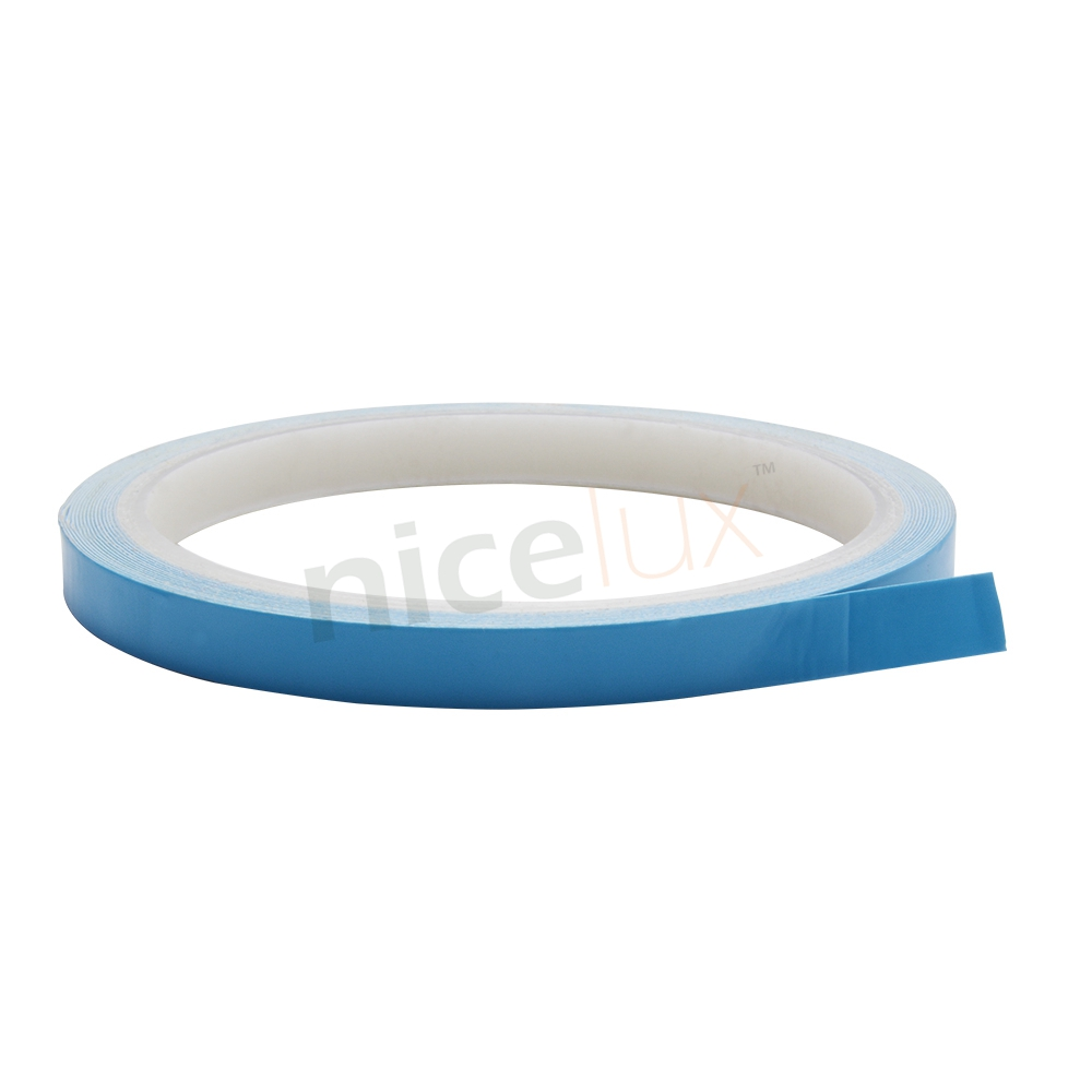 5m 10m 25m/Roll 8mm 10mm 12mm Width Transfer Tape Double Side Thermal Conductive Adhesive Tape for Chip PCB LED Strip Heatsink