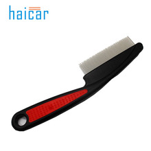 haicar Dog Supplies Combs  Plastic Handle Puppy Cat Massage Bath Brush Pet Grooming Tool Pet Dog Comb Long Hair Brush u7116