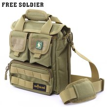 Free Soldier Hiking Camping Outdoor Bag Military Cordura Single-shoulder Bag Molle System Bag for Short Trips