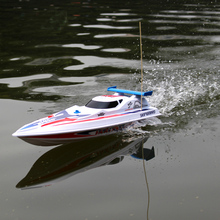 Hot sale children's large scale remote control toys speed rc boat outdoor Sport and play race for kids boys toy 67CM