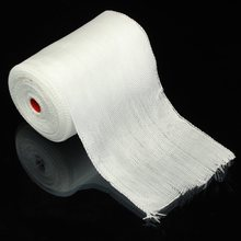 1Roll White Fiberglass Cloth Tape E-Glass Wide 10cmx30m Long Fiber Plain Weave High Temperature Resistance High Strength(China)