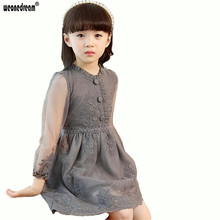 WEONEDREAM Spring Summer Kids Dresses for Girls Vestido De Princesa Girls Clothes Princess Lace Baby Girl Dress Kids Clothes