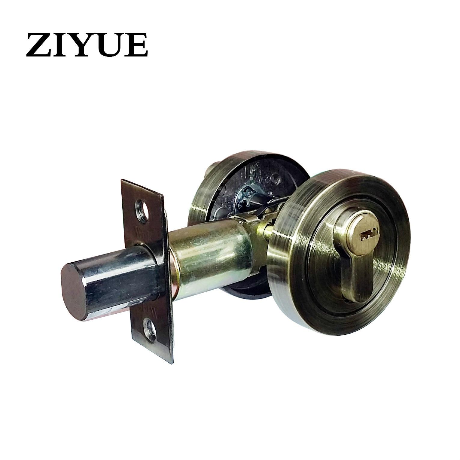 Free Shipping Lock Zinc Alloy Single Head Deadbolt Locks<br>