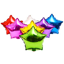 Buy 5pcs/lot 18inch Star Shape Aluminium Foil Balloon Birthday Party Wedding Decoration Pure Color Balloons Party Decor Supplies for $2.39 in AliExpress store