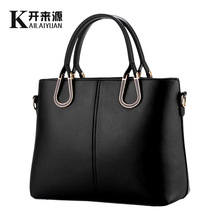 100% Genuine leather Women handbags 2018new bags and bags of female Korean fashion handbag Crossbody styling Shoulder Handbag(China)