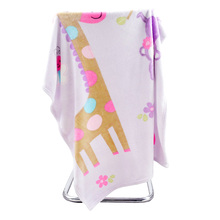 Hot Sale Flannel Baby Blanket Deer Cartoon Good Absorption Pink Swaddling Kid Room Decor Soft Bedding Accessories(China)