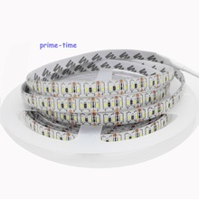 New SMD 3014 LED Strip 204led/m, Super Bright waterproof Non-waterproof led tape light DC 12V white/Warm white color,5m/lot