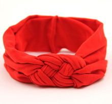kids girl kids elastic for head hair bands wraps band headbands knotted braided turban headband hairband headwrap accessories(China)