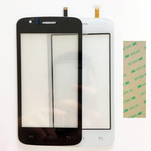 4.0 Inch Touchscreen For Explay Atom Touch Screen Sensor Touch Panel Digitizer Front Glass +3M Sticker(China)