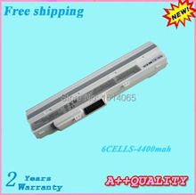 "White 6CELLS U100 U100X U90 For Advent 4211 E1210 X110 10"" UMPC Laptop battery For MSI BTY-S11 BTY-S12"