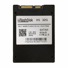 I-Flash Disk 2.5-Inch 32GB SSD SATA3 6GB/S High-Speed Transmission Without Cache Laptop Hard Disk Light And Portable Anti Shock(China)
